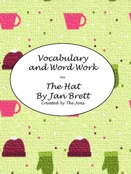 "Jan Brett's ""The Hat"" Vocabulary and Word Work"