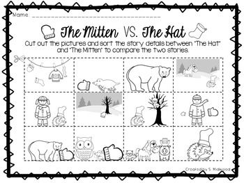 The Hat and The Mitten Extension Activities