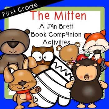 The Hat and The Mitten Jan Brett BUNDLE