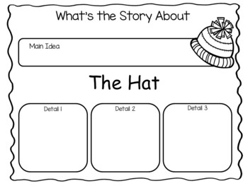 The Hat by Jan Brett  ~ 52 pages of Common Core Activities