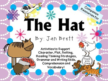 The Hat by Jan Brett:  A Complete Literature Study!