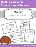 The Hat by Jan Brett - Emergent Weekly Reader and Interactive Notebook - Primer