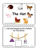 """The Hat"" by Jan Brett Modified Book (AAC/Autism)"