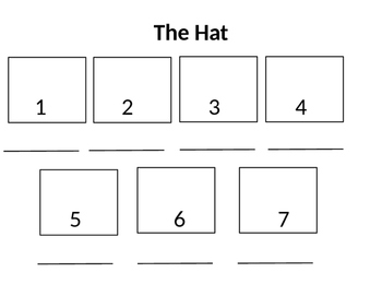 The Hat by Jan Brett Sequencing