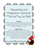 """""""The Hat"""" by Jan Brett Sequencing and Perspective Taking"""