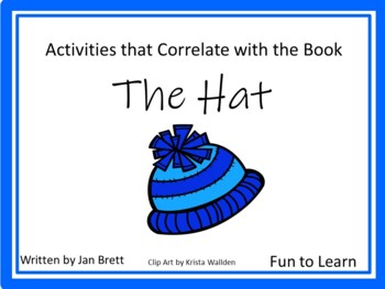 The Hat by Jan Brett  ~ 50 pages of Common Core Activities