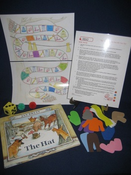 The Hat hard cover English parent pack