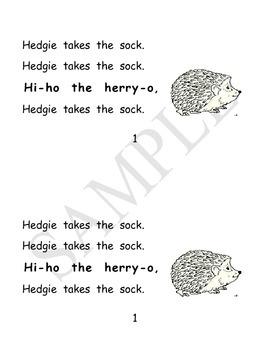 The Hat phonemic awareness mini-song book