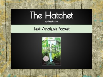 The Hatchet Text Analysis Packet