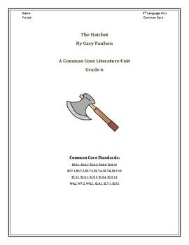 The Hatchet by Gary Paulsen Novel Study