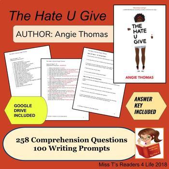 The Hate U Give: Angie Thomas - Novel Unit