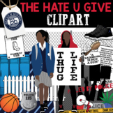 The Hate U Give Clipart for Lessons, Resources and Activities Novel Study