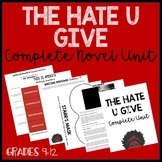 The Hate U Give: Complete Novel Unit with paired complex texts (Bundle)