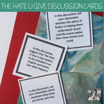 The Hate U Give: Discussion Role Cards