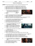 The Hate U Give Film (2018) 20-Question Matching and Multiple Choice Quiz