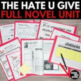 The Hate U Give Full Novel Unit Bundle