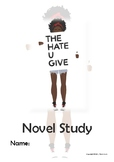 The Hate U Give - Novel Study