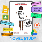 The Hate U Give Novel Study