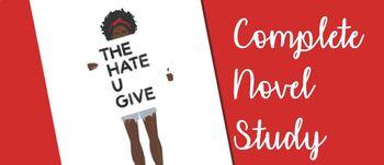 The Hate U Give Novel Study BUNDLE