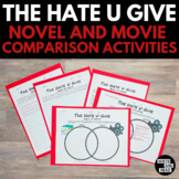 The Hate U Give Novel vs. Movie Comparison Activities