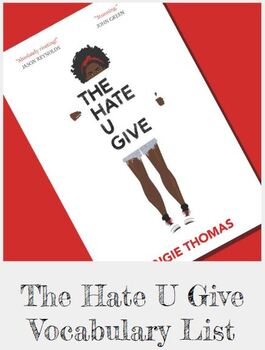 The Hate U Give Vocabulary Words