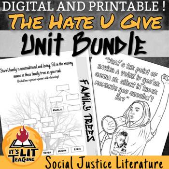 The Hate U Give Whole Unit Bundle