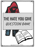 The Hate You Give Question Bank