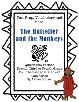 The Hatseller and the Monkeys - Vocabulary - Comprehension - Test Prep