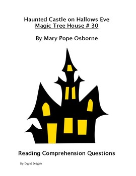 Haunted Castle on All Hallows Eve Magic Treehouse 30 Reading Comprehension