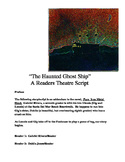 """The Haunted Ghost Ship (A Readers Theater Script)"" [*New Book Trailer]"