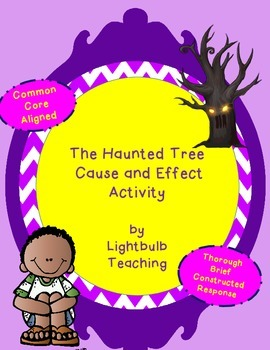 The Haunted House Cause and Effect Activity