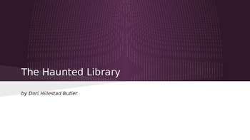 The Haunted Library #1 Slide