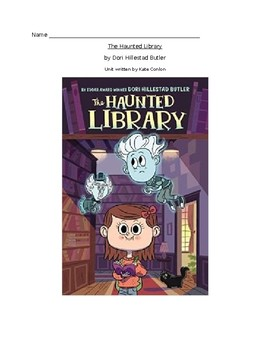 The Haunted Library Literacy Unit
