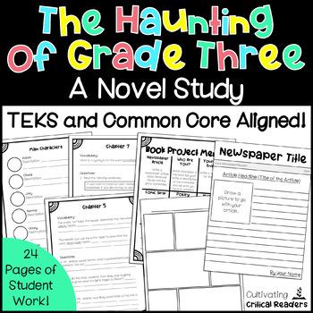#tptsupportsmallshops The Haunting of Grade Three Novel Study