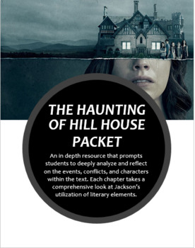 The Haunting Of Hill House Activity Packet By Creating Learners Tpt