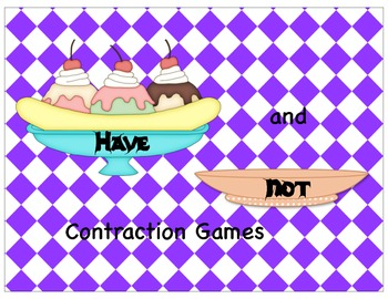 The Have, Had, and Not Contraction Games
