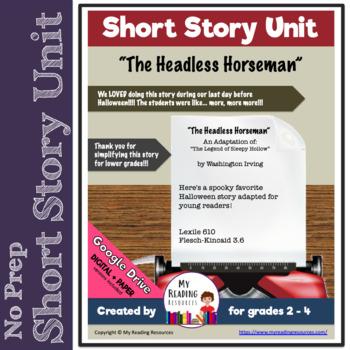 The Headless Horseman (simplified version of The Legend of Sleepy Hollow)