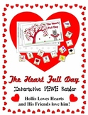 The Heart Full Day Interactive PEWE Reader - PECS style Book Valentine - Autism