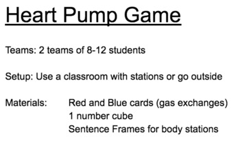 The Heart Pump Game