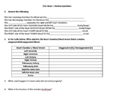 The Heart Review Questions with Answer Key