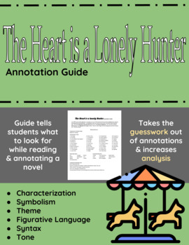 The Heart is a Lonely Hunter Annotation Guide