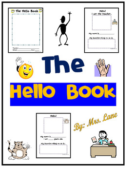 The Hello Book! for Elementary Students