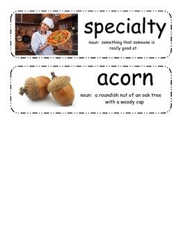 The Hello, Goodbye Window Vocabulary Cards