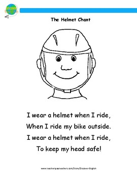The Helmet Chant - Colouring Page