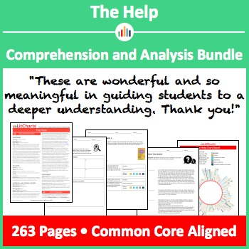The Help – Comprehension and Analysis Bundle