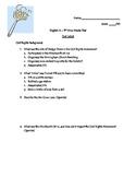The Help Novel Unit Test with Answer Key