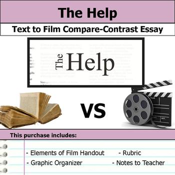 The Help by Kathryn Stockett - Text to Film Essay Bundle