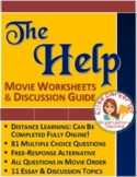 The Help: Worksheets, Tests, and Movie Guide