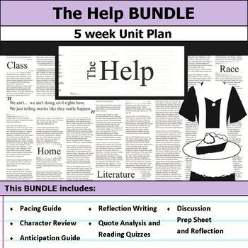 The Help by Kathryn Stockett Unit Bundle