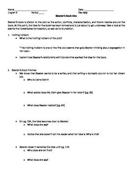 The Help by Kathryn Stockett-- Skeeter's Book Idea